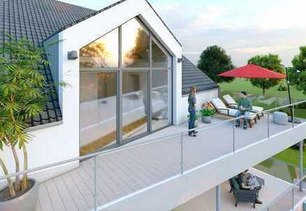 Professionell geplantes Penthouse von Storms: Lichtdurchflutet, große Sonnenterrasse