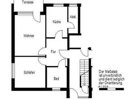 Erdgeschosswohnung mit Terrasse
