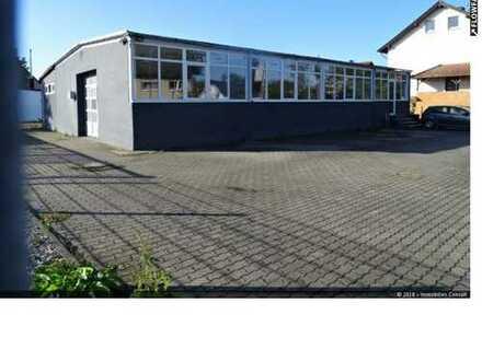"""Lager-/Produktionshalle mit Büro und Freifläche """"Provisionsfrei"""" zu verkaufen -069-615889-"""