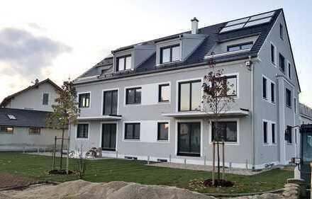Erstbezug mit EBK: exklusive 3-Zimmer-Wohnung mit Garten in Landshut