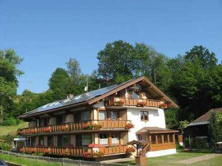 Kleines Hotel im südlichen Oberallgau