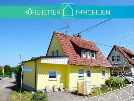 Sonniges Einfamilienhaus mit schönem Grundstück in ruhiger Lage von Albstadt-Tailfingen!
