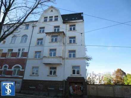 120/19 - unsaniertes Mehrfamilienhaus - Reihenendhaus mit 10 WE in Plauen (Preißelpöhl)