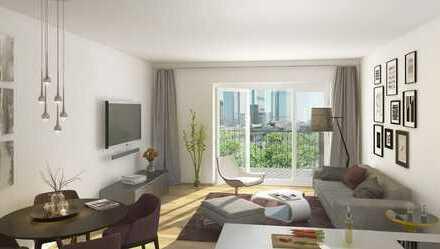 Erstbezug mit Einbauküche: stilvolle 2-Zimmer-Wohnung in Frankfurt;nahe Hbf;Main;Messe;Innenstadt