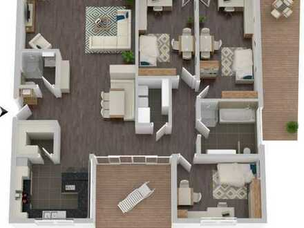Großzügige 4,5-Zimmer-Wohnung in Büchenbronn - Provisionsfrei