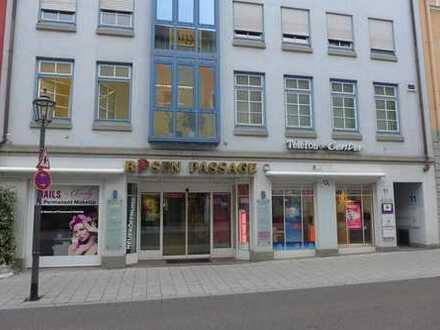 Ladenlokal in bester Innenstadtlage von Memmingen zu vermieten