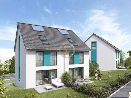 Großzügige Doppelhaushälften - Neubau projektiert in Esslingen.