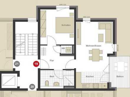 Wolfsberg Palais - 2 Zimmerwohnung mit Fernblick über den Dächen Pforzheims