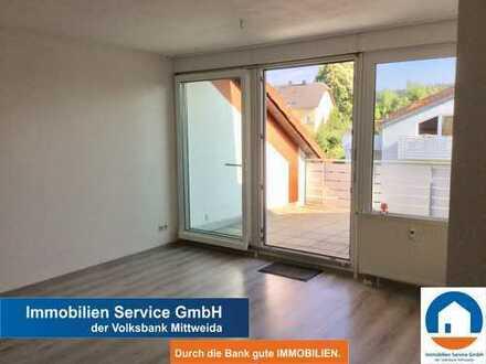 Vermietete 2-Zimmer-Wohnung mit großer Terrasse und Tiefgaragenstellplatz