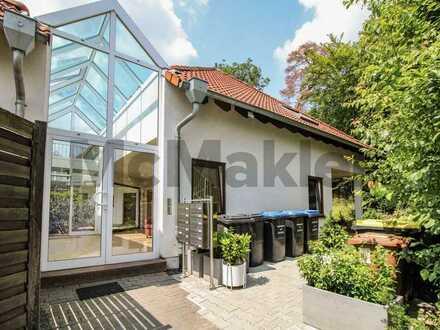Wohnen im Luftkurort: Absolut naturnahe Erdgeschosswohnung mit großer Terrasse auf Erbbaugrund