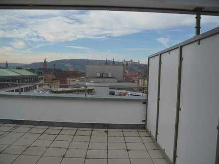 Wunderschöne Penthouse-Wohnung in der Innenstadt von Würzburg
