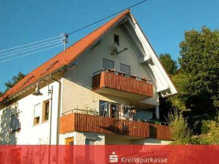 4 1/2 Zimmer-Dachgeschoss-Wohnung in sonniger Hanglage in Schopfloch-Unteriflingen