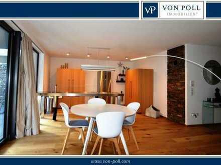 Modern geschnittene Erdgeschosswohnung mit hochwertiger Ausstattung in naturnaher Lage