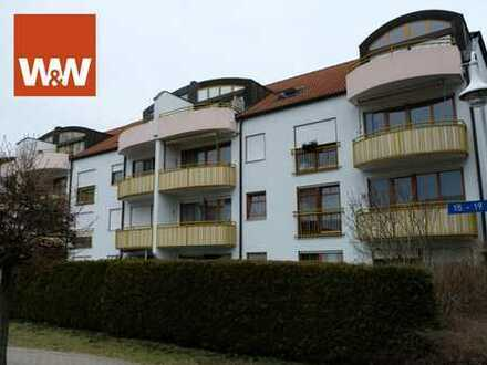 2-Raum-Wohnung in Waldheim mit Tiefgaragenstellplatz und Fahrradraum