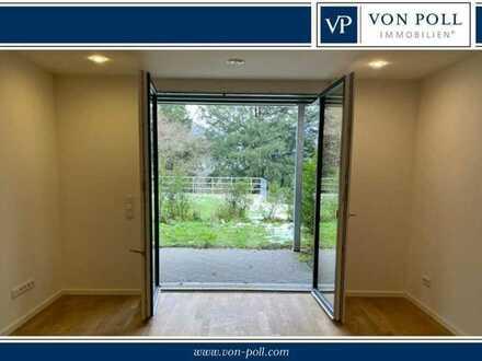 VON POLL Barrierefreie moderne Wohnung mit Terassen und Gartenanteil im Grünen