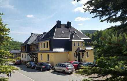 Kleines Mehrfamilienhaus (DHH) in idyllischer Lage, voll vermietet, 4 WE, mit Grundstück