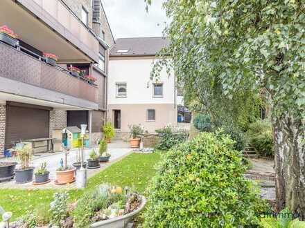 Kleines, gemütliches Einfamilienhaus mit Gemeinschaftsgarten und Ausbaupotenzial