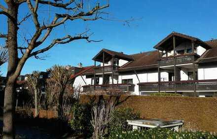 Ruhig gelegene 3-Zimmer-Dachgeschosswohnung mit großem Süd-/West-Balkon