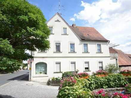 Jede Menge Potential Wohn- und Geschäftshaus im Zentrum von Burgwindheim....sofortige Übernahme mögl