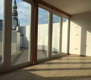 Der wohl schönste Blick über Zwickau: Maisonette-Wohnung zum Wohlfühlen im Palais am Rathaus