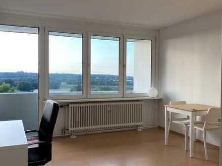 BLICK IN DIE FERNE - helle 1-Zimmer-Wohnung in Erlangen- Kriegenbrunn- möbliert