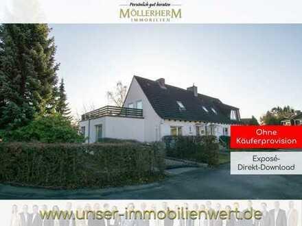 Ruhig gelegene Doppelhaushälfte zum Selbstverwirklichen in Lohbrügge