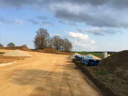"""5km Regensburg!! top Grundstück in Grünthal - für ihre """"Römer""""-DHH-Hälfte"""