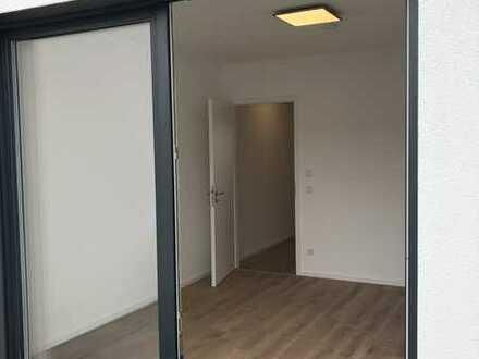 Attraktive 1-Zimmer-Whg mit Balkon und Einbauküche im Neubau