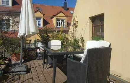 Günstige 5-Zimmer-Wohnung mit großem Balkon in Großenhain zentrumsnah