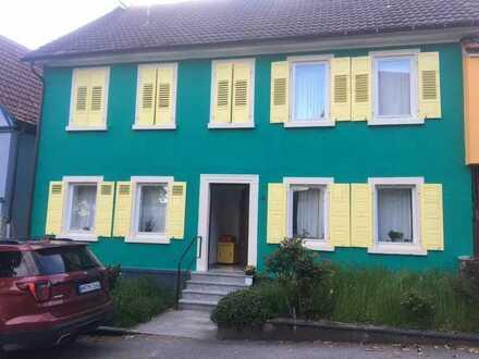 Historisches 7-Zimmer-Mehrfamilienhaus in Jagsthausen, Jagsthausen-Olnhausen