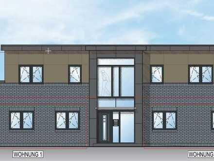 Erdgeschoss-Wohnung in gehobener Ausstattung mit Terrasse in Wiesmoor, KfW 55 Effizienzhaus