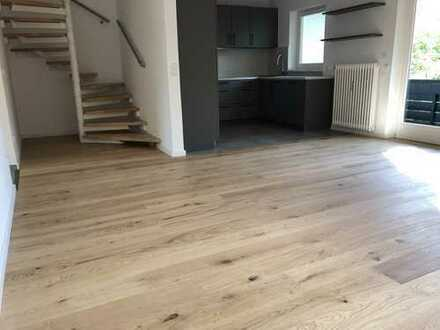 Bestlage Waldtrudering: Moderne 3 Zimmerwohnung auf 2 Ebenen