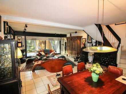 Stilvoll Wohnen in FFM +++ Große, gehobene 5-Zi.-Whg. mit schönem Garten, Balkon und ELW in Oberrad