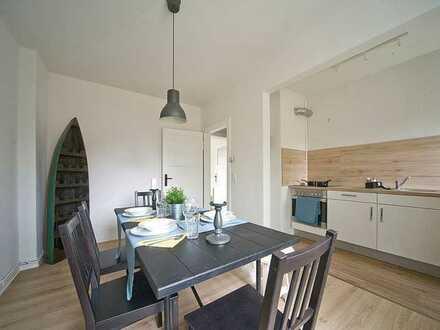 """Sanierte 3 Zimmer Wohnung mit EBK und Balkon in Engelsby """"kontaktlose Besichtigung"""" möglich"""