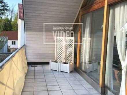 Nette DG- Wohnung mit großem Balkon in Gersthofen