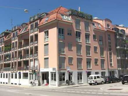 Zentral in Obersendling, vermietet, EG Wohnung, 2 Zimmer.