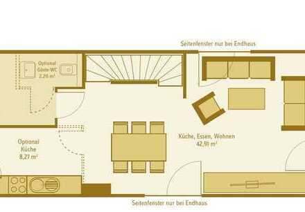 Erstbezug: schönes 5-Zimmer-Reihenhaus mit gehobener Innenausstattung zur Miete in Alzey