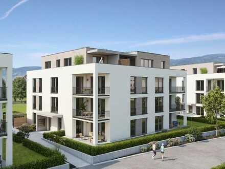Neu: Schöne & große 2 Zimmer Gartenwohnung - in neuer AVANTUM® Wohnanlage Achern Quartier Glashütte