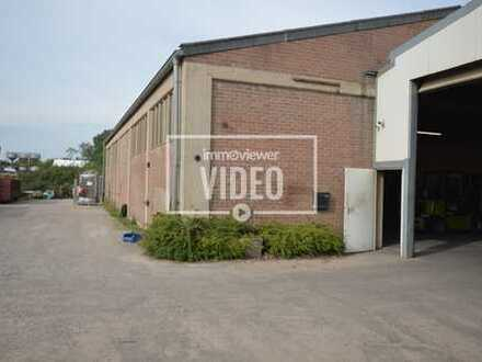 Große Produktionshalle mit Lagerhallen und Freifläche in Xanten-Birten!