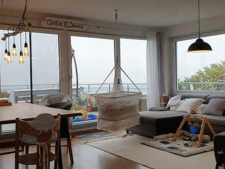 Moderne 5-Zi-Maisonette-Wohnung in Aussichtslage von Gerlingen mit Garage