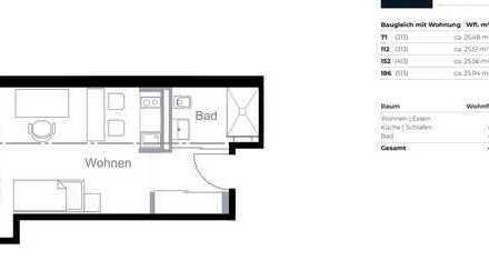 Schöne ein Zimmer Wohnung in München, Ludwigsvorstadt-Isarvorstadt