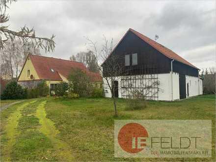 Idylle pur und viel Platz zur Entfaltung: Einfamilienhaus mit Nebengebäude auf großem Grundstück