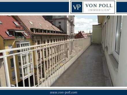 Ideal für Studenten: WG-Anteil in Penthausetage - Würzburg-Altstadt