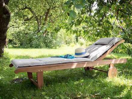 Für Naturliebhaber - 4-Zimmer mit großem Privatgarten