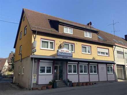 Hotel Garni, ca. 400 qm, 16 Zimmer - 2,5 Zimmer WH