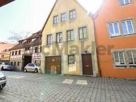 Gestaltungspotenzial: Charmantes Stadthaus im malerischen Zentrum von Rothenburg!