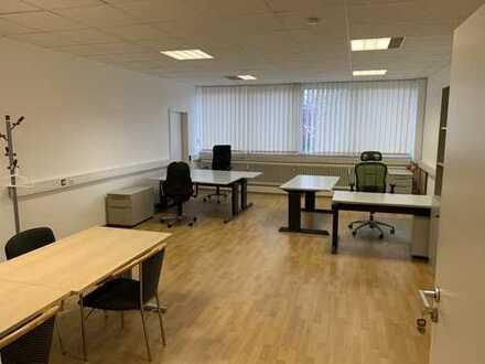 geräumiges Einzel - Büro / voll möbliert