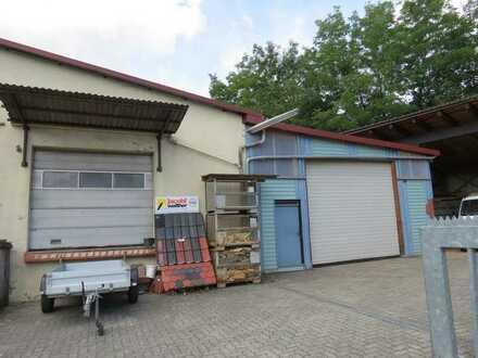 Renovierungsbedürftiges Wohnhaus mit 2 Hallen und großem Hof - zentral in Crailsheim