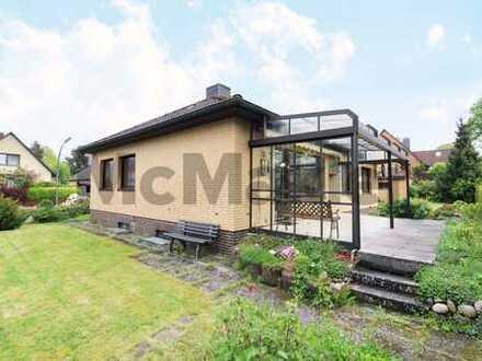 Familienfreundlicher Bungalow mit großem Garten und Terrasse in Hamburg-Harburg