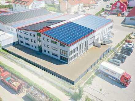 Hochwertige Halle (Neubaustandard) mit angeschlossenen Büroflächen in Stammham